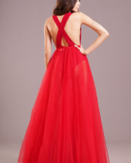 90687 – Gonnellone tulle – rosso(r)
