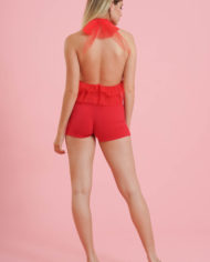Body tulle rosso (2)