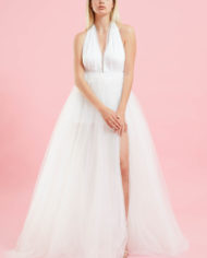 Gonnellone tulle bianco