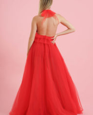 Gonnellone tulle rosso (2)